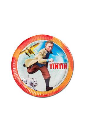 Tintin, tallrik