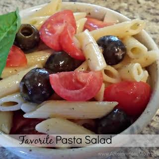 Favorite Pasta Salad.