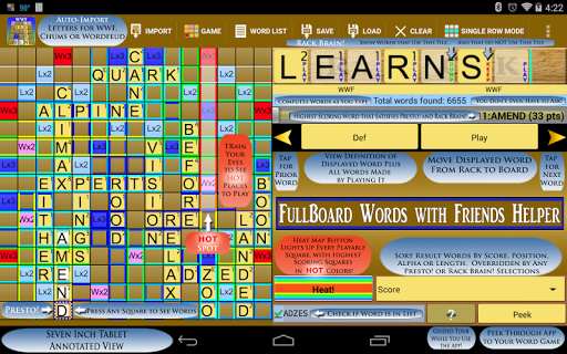 Words Helper 4 Friends  screenshots 12