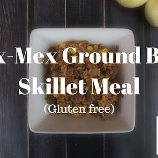 Tex-Mex Ground Beef Skillet Meal.