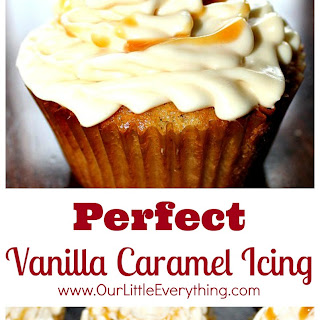 Perfect Vanilla Caramel Icing.
