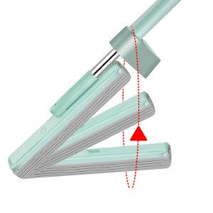 Mop rotativ cu stoarcere tip presa si laveta super absorbanta