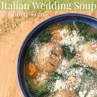 Gluten Free Crockpot Italian Wedding Soup