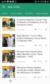 Nigeria News NAIJ.com screenshot 04