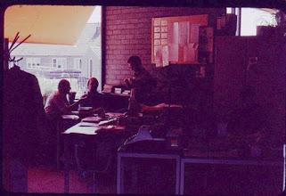 Photo: Mr. van Keyzerswaard, Sjef van Rooy, Jan Barendrecht.
