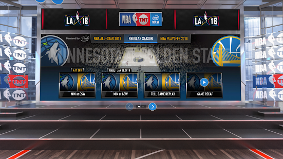 NBA on TNT VR Screenshot