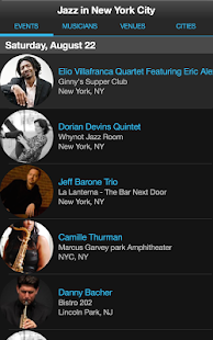 Jazz Near You- screenshot thumbnail