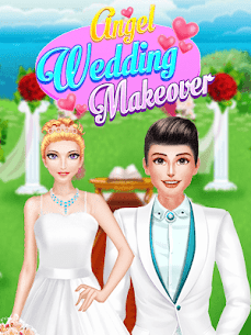 Angel Wedding Makeup & Makeover Salon Girls Game 8