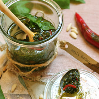 Chili Basil Pesto