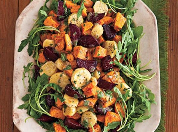 Orange Roasted Veg Medley Recipe