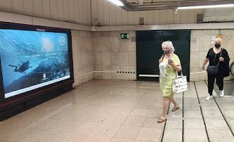 Así luce Almería en el metro de Madrid
