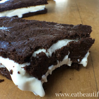 REAL FOOD Ice Cream Sandwich Bars- {grain-free, sugar-free}
