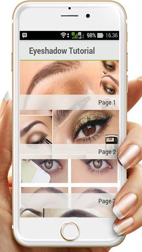 玩免費遊戲APP|下載Eyeshaduメイクチュートリアル app不用錢|硬是要APP