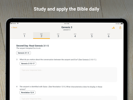 Bible Study Fellowship App screenshot 9