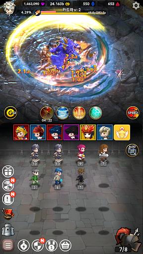 Idle Fantasy Merge RPG screenshot 8
