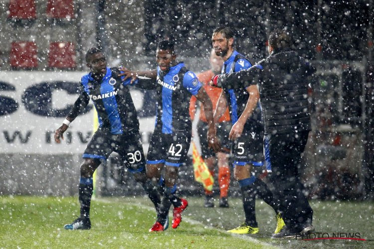 Club Brugge klopt Zulte Waregem in aantrekkelijke schaatspartij / waterballet