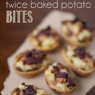 Bacon Jalapeño Twiced Baked Potato Bites