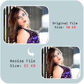 Resize Photo in kb - Compress image Size Reduce