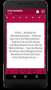 Romantic Love SMS Malay - náhled