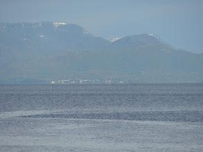Photo: Lax Kw'alaams and Port Simpson across Chatham Sound from Kanagunut Island.