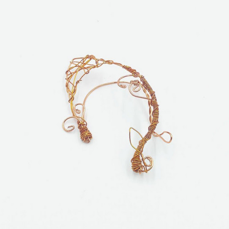Myth Series EAR CUFF by MosesisM : Myth 0006. fully handmade and easy to wear, no piercing hole need