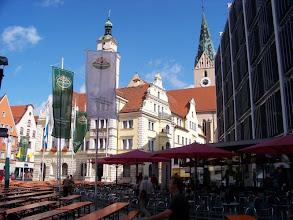 Photo: der Rathausplatz