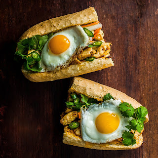 Crispy Chicken Banh Mi