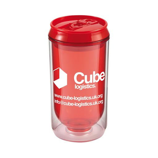 Promotional Can Cup - Blue