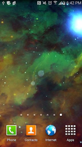 3D Nebula Live Wallpaper
