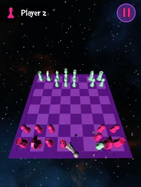 Flick Chess: forget the rules!- screenshot