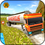 Oil tanker truck sim - offroad transporter driver Icon