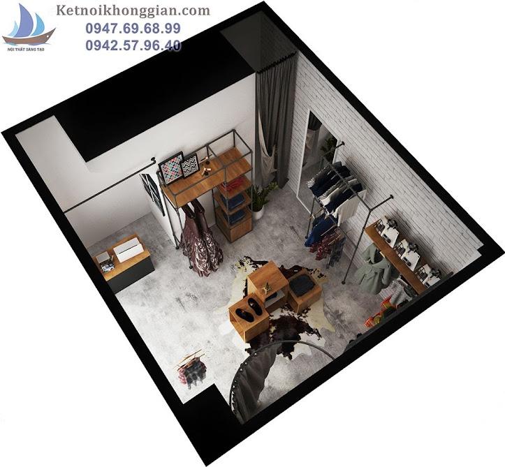 thiết kế shop thời trang hiện đại 28