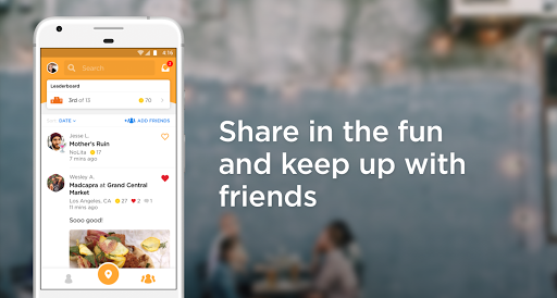 Foursquare Swarm: Check In Screenshot