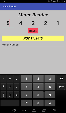 android Meter Reader Assistant Screenshot 3