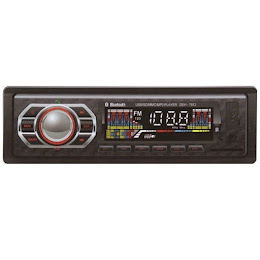Radio MP3 player auto bluetooth, USB, SD, AUX, 4x60W, telecomanda DEH-7612