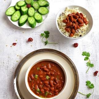 Kidney Bean Curry / Rajma Masala