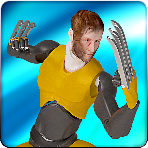 Superhero Claw Blades: X-Hero Ninja Fighting Games