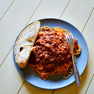 Make Basic Spaghetti Sauce