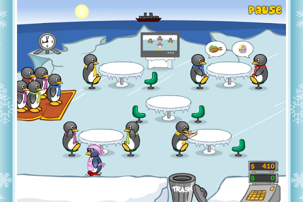 Penguin Diner screenshot