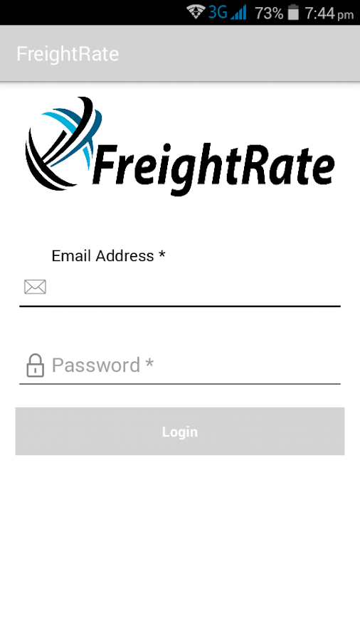 FreightRate- screenshot