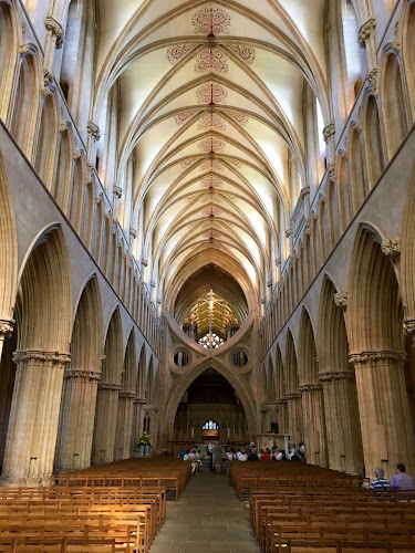 Wells Cathedral Nave by Timothy Carney - Buildings & Architecture Places of Worship ( wells, england, gothic, scissor arches, cathedral )