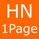 Hacker News OnePage