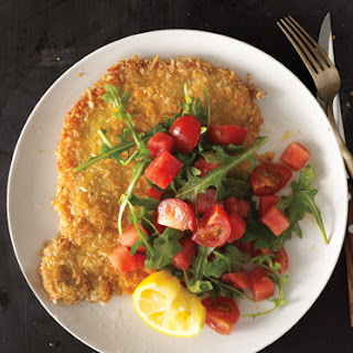Pork Tonkatsu with Watermelon-Tomato Salad