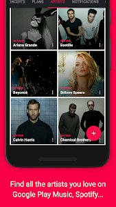 Songkick Concerts screenshot 0