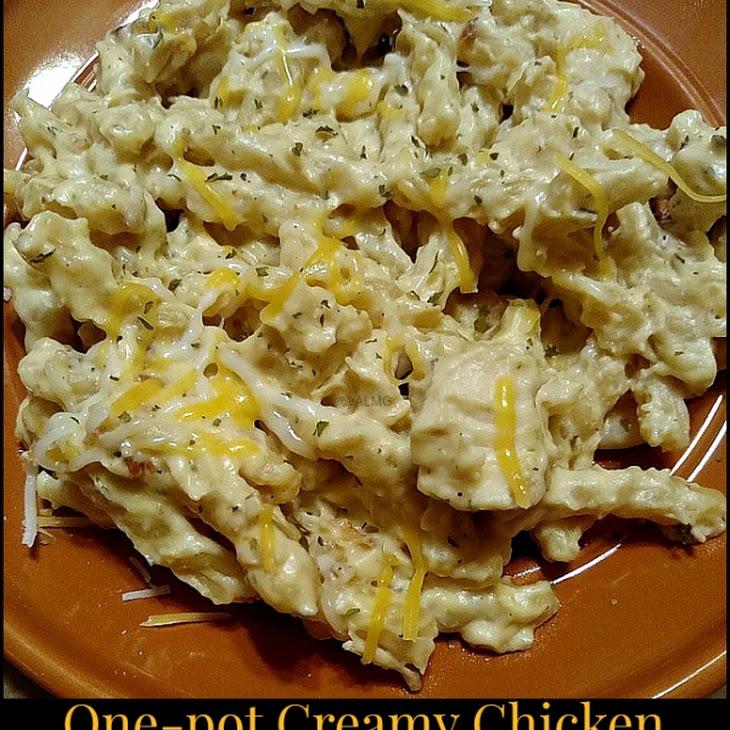 One-Pot Creamy Chicken Bacon Ranch Casserole Recipe