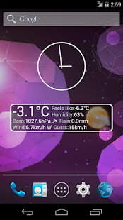 Weather Personal Widget- screenshot thumbnail