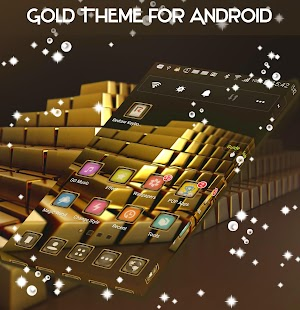 Gold Theme for Android - náhled