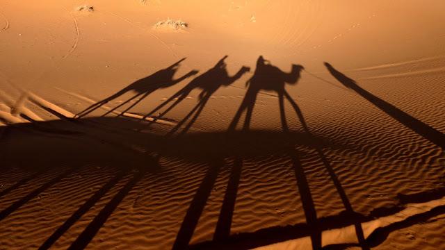 Merzouga homokdűnéi