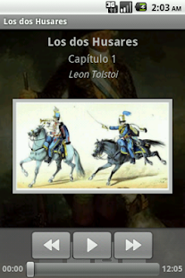 Audiolibro - Los dos Husares - screenshot thumbnail