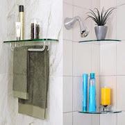 Bathroom Glass Shelves Ideas icon